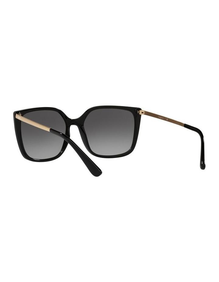 Black/ Gold Square Sunglasses 0VO5353S image 6