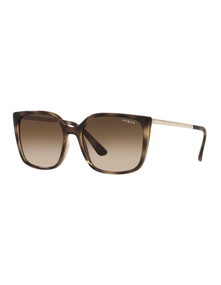 Tort/ Brown Square Sunglasses 0VO5353S image 1