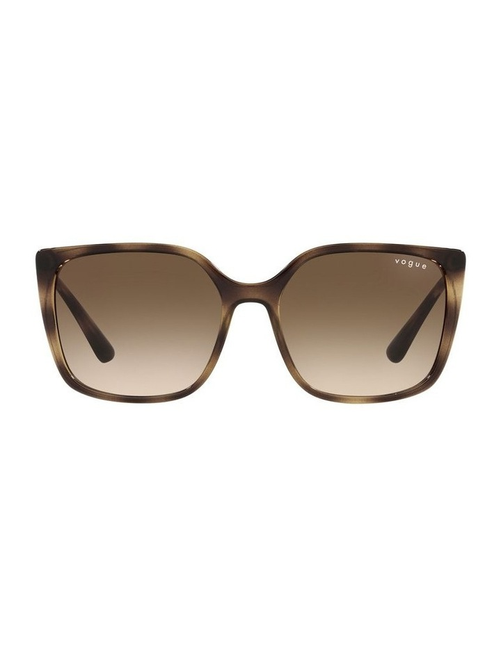 Tort/ Brown Square Sunglasses 0VO5353S image 2