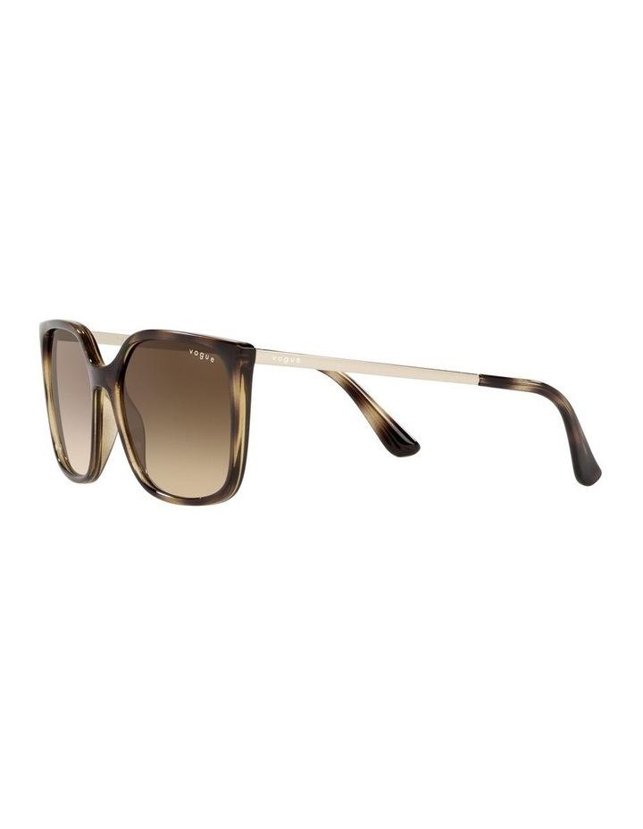 Tort/ Brown Square Sunglasses 0VO5353S image 3