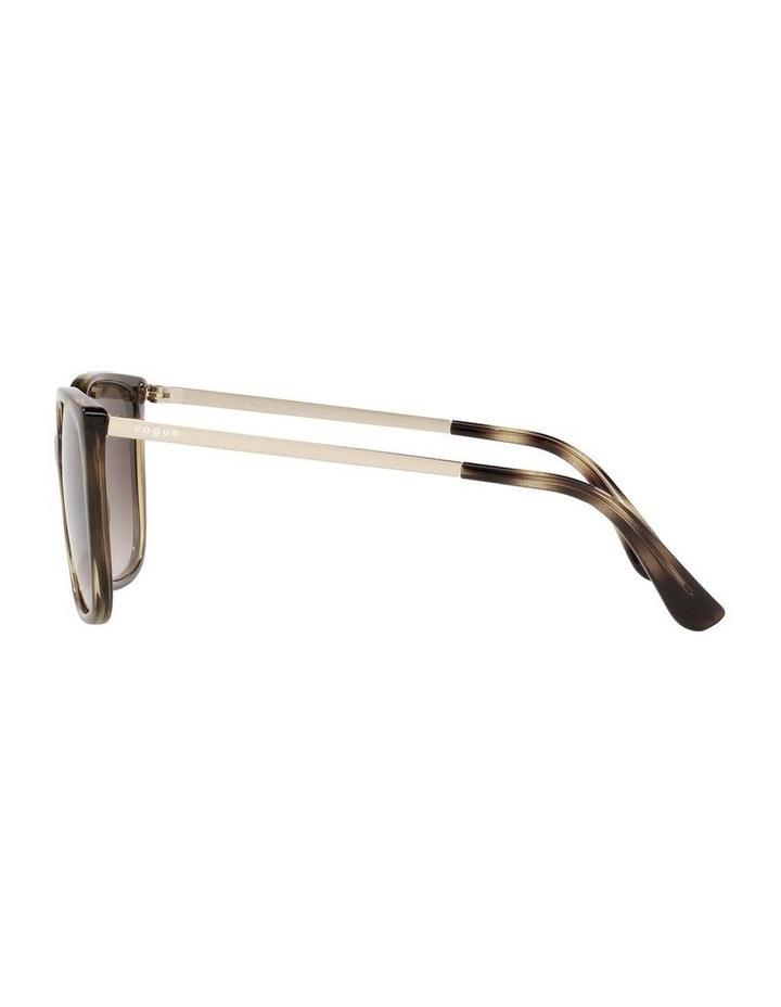 Tort/ Brown Square Sunglasses 0VO5353S image 4