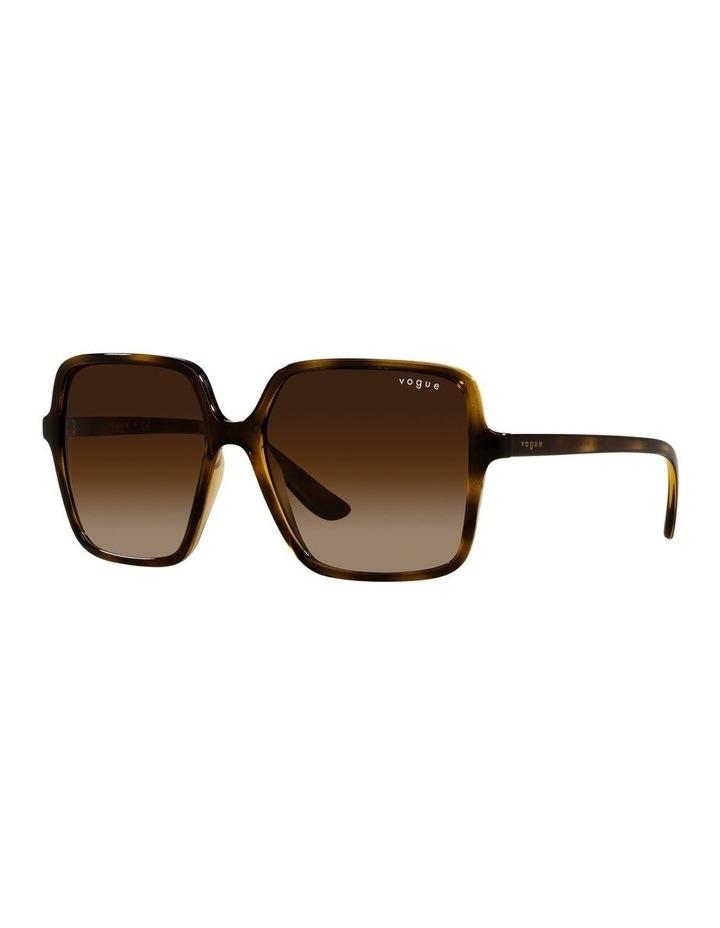Brown Square Sunglasses 0VO5352S image 1