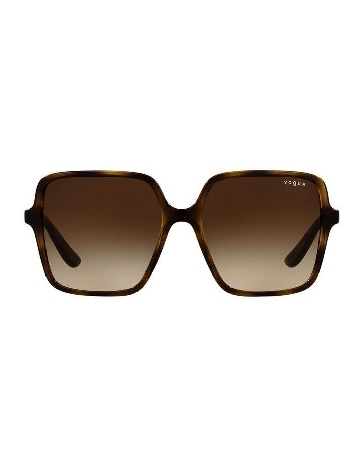 Brown Square Sunglasses 0VO5352S image 2