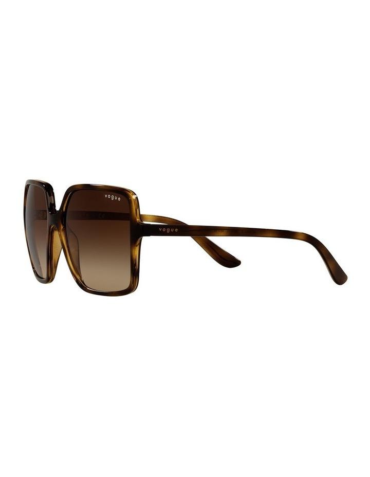 Brown Square Sunglasses 0VO5352S image 3