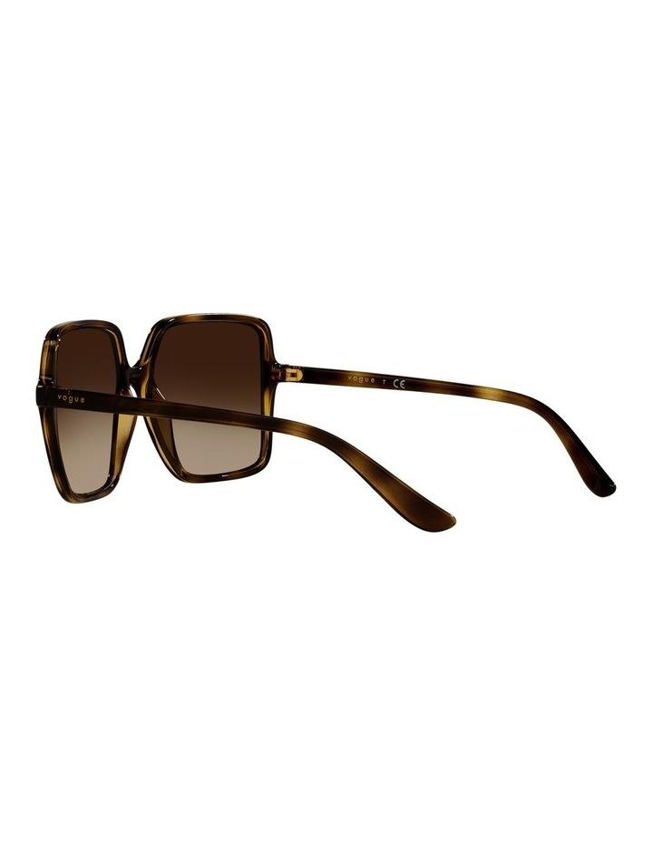 Brown Square Sunglasses 0VO5352S image 5