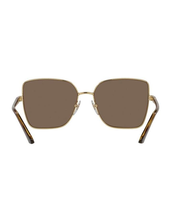 Brown/ Gold Cat Eye Sunglasses 0VO4199S image 7