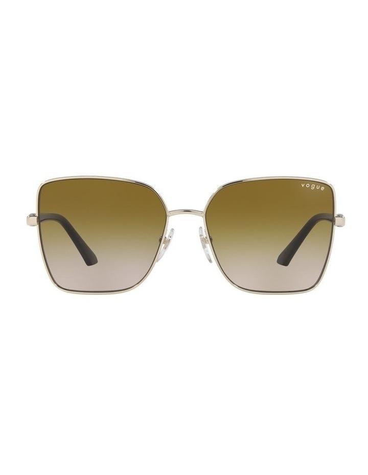 Yellow Cat Eye Sunglasses 0VO4199S image 2