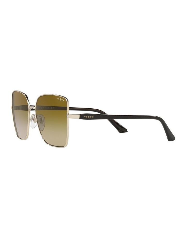Yellow Cat Eye Sunglasses 0VO4199S image 3