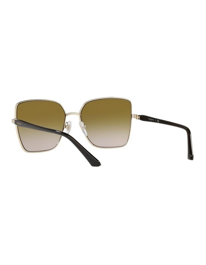 Yellow Cat Eye Sunglasses 0VO4199S image 6