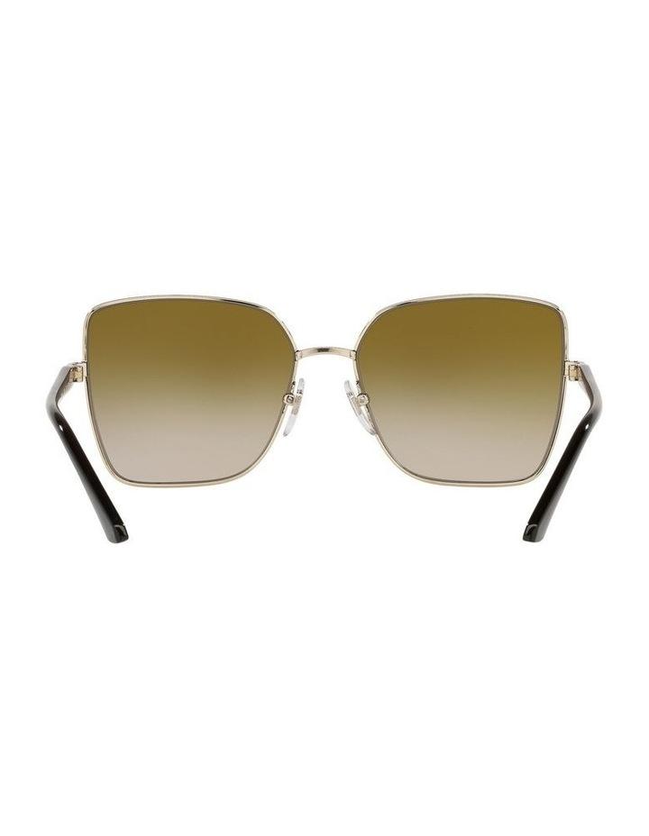 Yellow Cat Eye Sunglasses 0VO4199S image 7