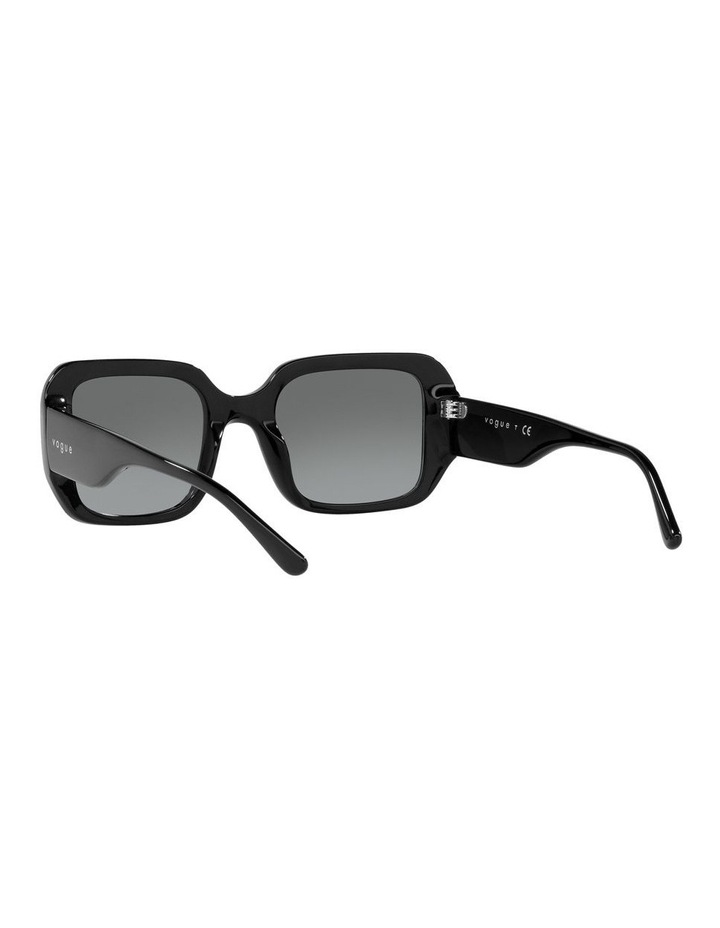 Black Rectangle Sunglasses 0VO5369S image 6