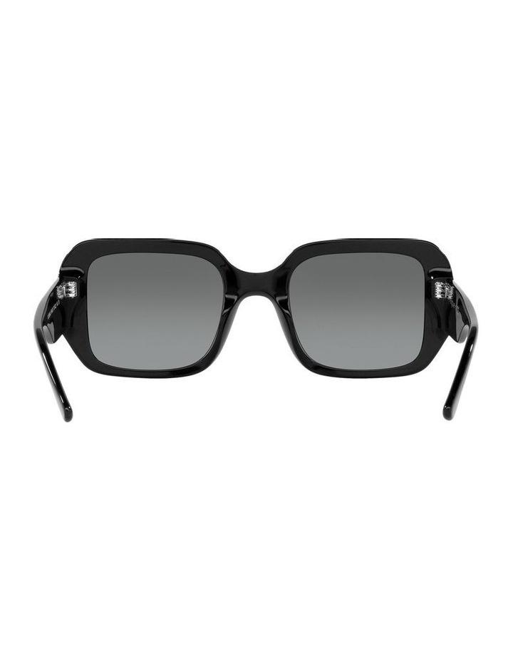 Black Rectangle Sunglasses 0VO5369S image 7