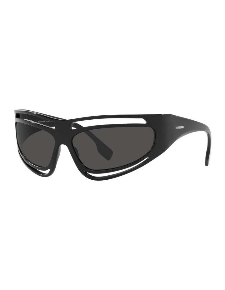 Black Rectangle Sunglasses 0BE4342 1536018003 image 1