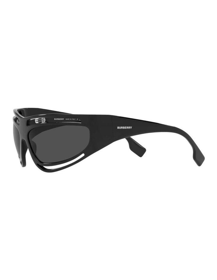 Black Rectangle Sunglasses 0BE4342 1536018003 image 3