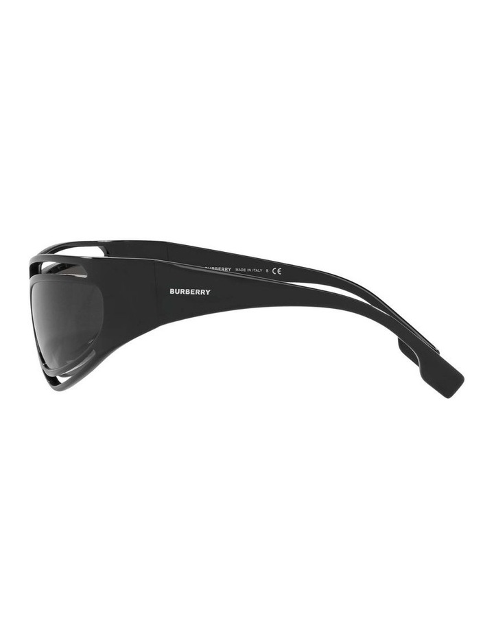Black Rectangle Sunglasses 0BE4342 1536018003 image 4