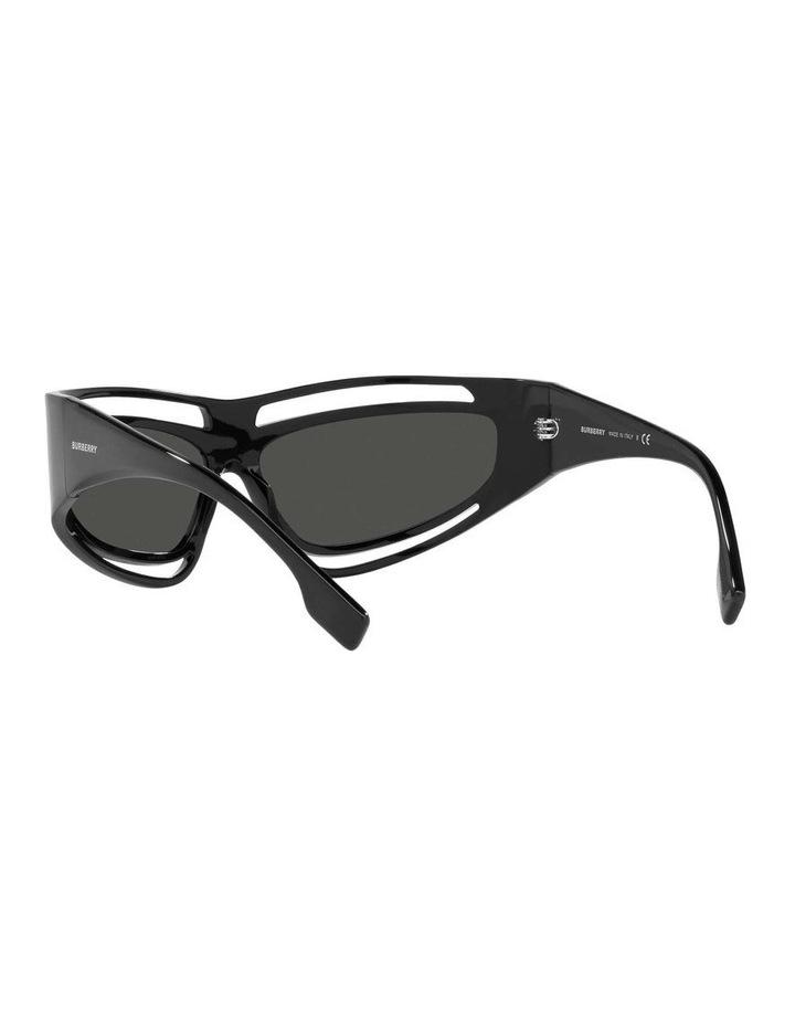 Black Rectangle Sunglasses 0BE4342 1536018003 image 6