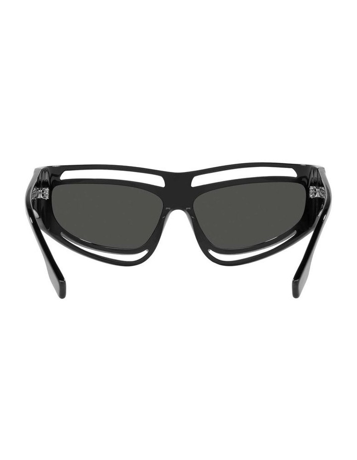 Black Rectangle Sunglasses 0BE4342 1536018003 image 7
