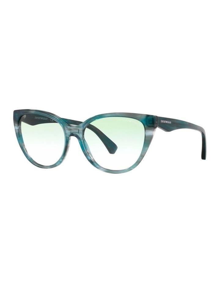 Green Cat Eye Sunglasses 0EA4162 1535295001 image 1