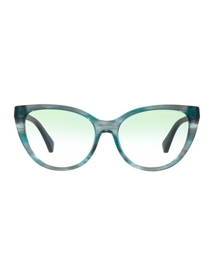 Green Cat Eye Sunglasses 0EA4162 1535295001 image 2