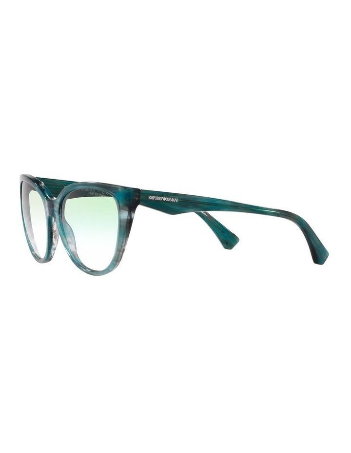 Green Cat Eye Sunglasses 0EA4162 1535295001 image 3