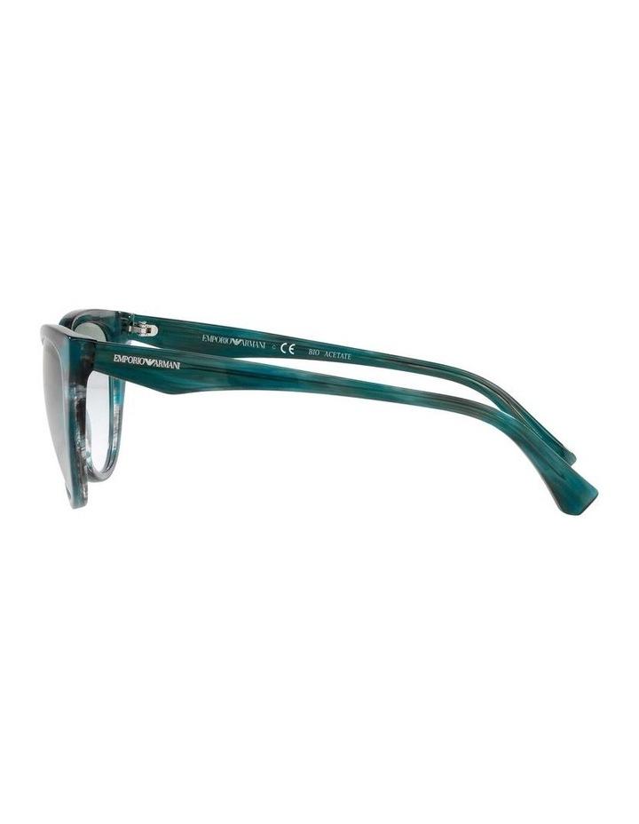 Green Cat Eye Sunglasses 0EA4162 1535295001 image 4