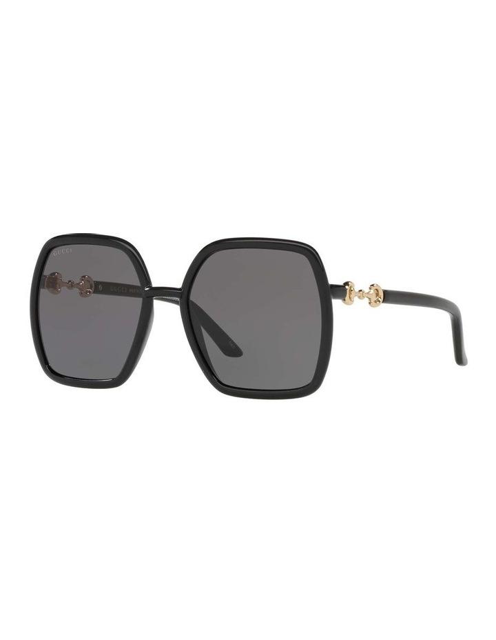 Black Rectangle Sunglasses 0GC001516 1535963001 image 1