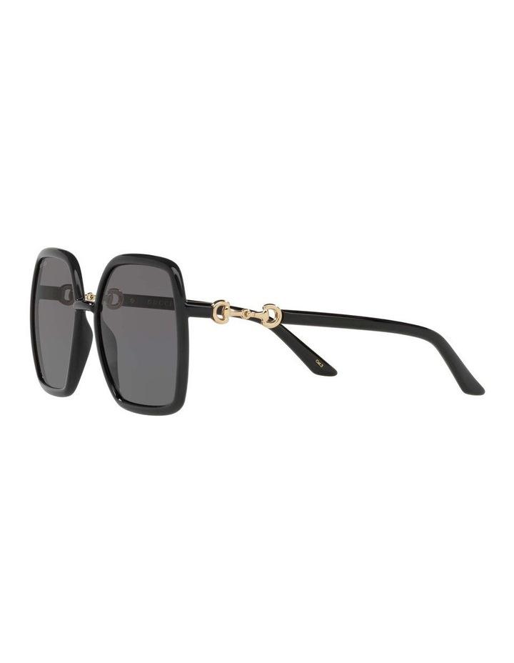 Black Rectangle Sunglasses 0GC001516 1535963001 image 3