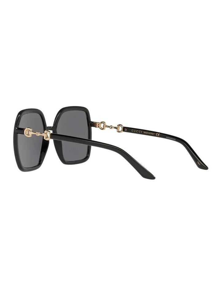 Black Rectangle Sunglasses 0GC001516 1535963001 image 5