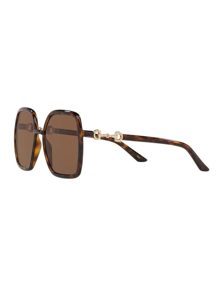 Tortoise Rectangle Sunglasses 0GC001516 1535963002 image 3