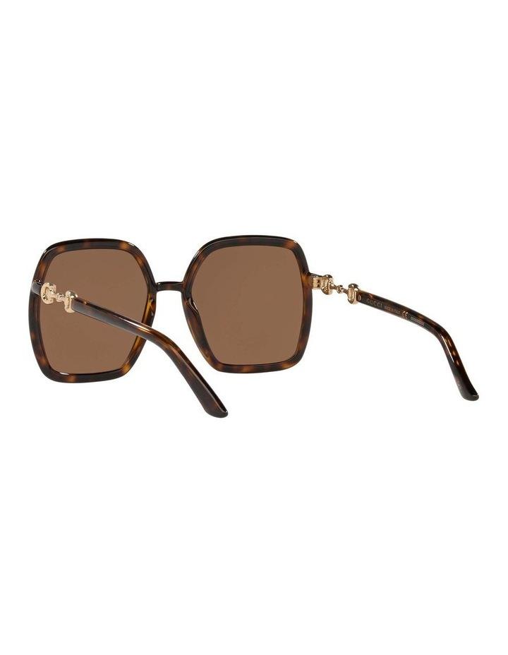 Tortoise Rectangle Sunglasses 0GC001516 1535963002 image 6