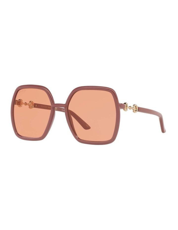Pink Rectangle Sunglasses 0GC001516 1535963003 image 1