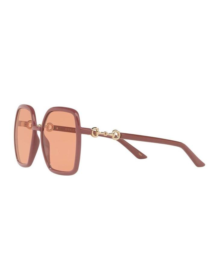 Pink Rectangle Sunglasses 0GC001516 1535963003 image 3