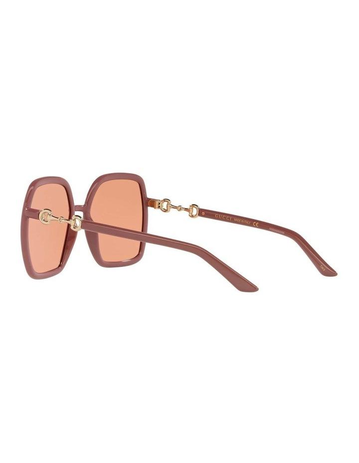 Pink Rectangle Sunglasses 0GC001516 1535963003 image 5