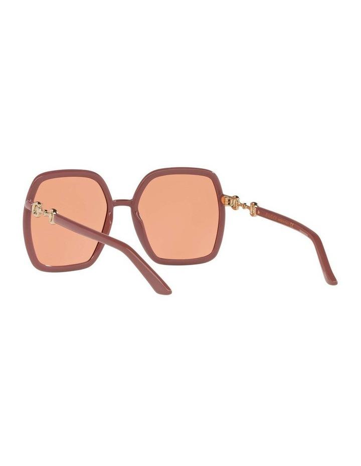 Pink Rectangle Sunglasses 0GC001516 1535963003 image 6