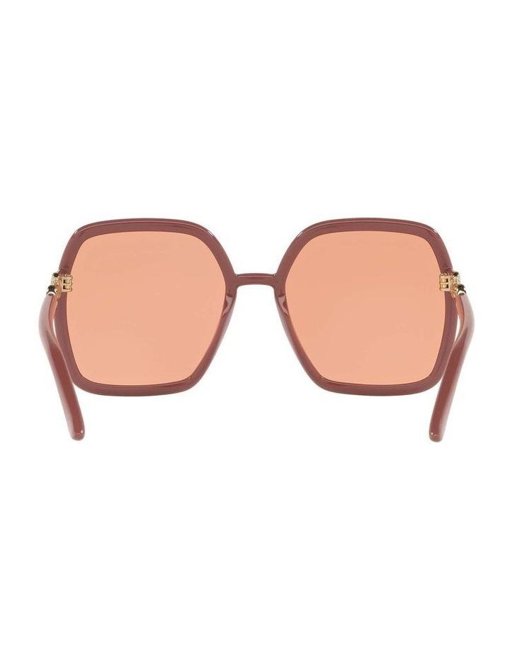 Pink Rectangle Sunglasses 0GC001516 1535963003 image 7