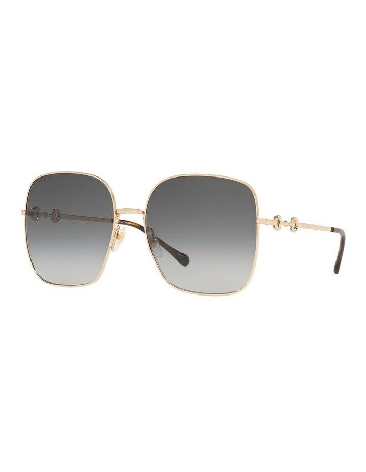 Gold Rectangle Sunglasses 0GC001507 1535974001 image 1