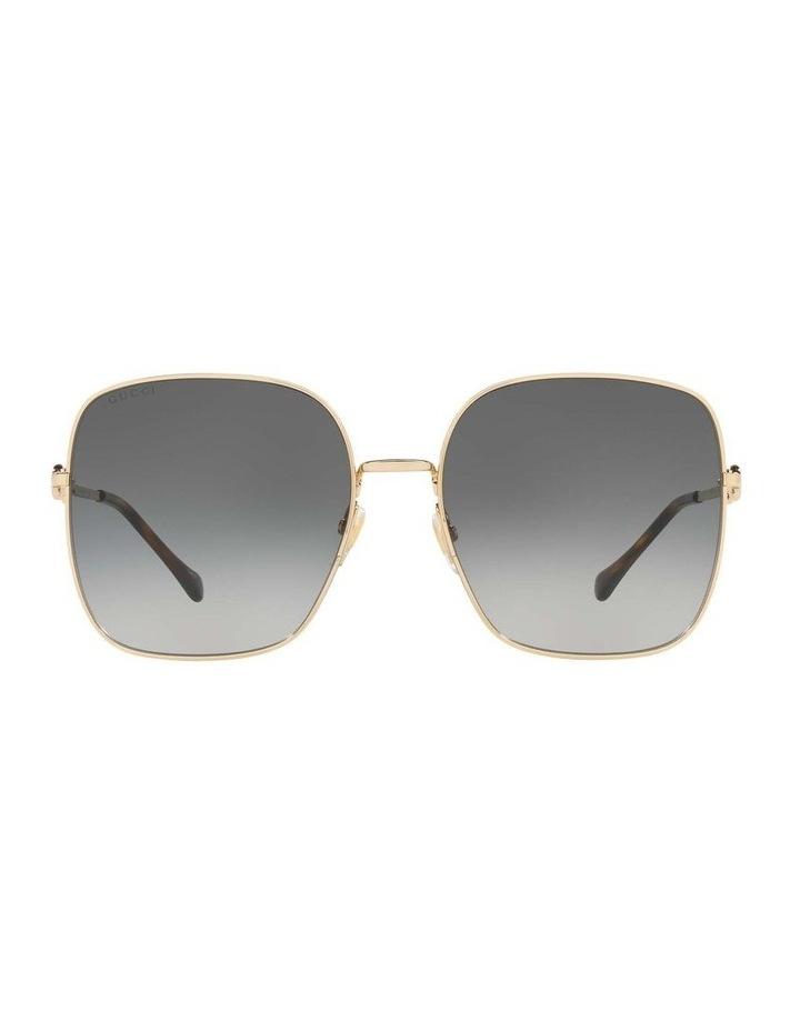 Gold Rectangle Sunglasses 0GC001507 1535974001 image 2