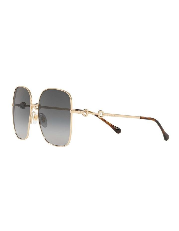 Gold Rectangle Sunglasses 0GC001507 1535974001 image 3