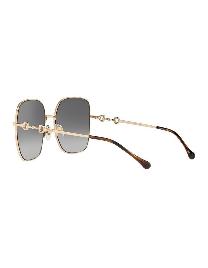 Gold Rectangle Sunglasses 0GC001507 1535974001 image 5