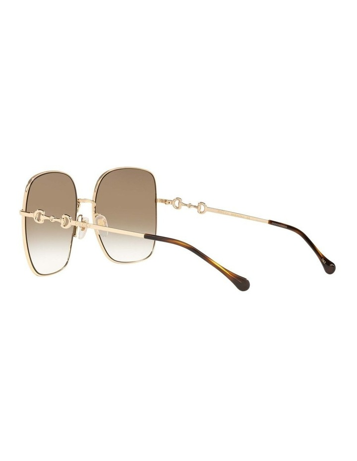 Gold Rectangle Sunglasses 0GC001507 1535974002 image 5