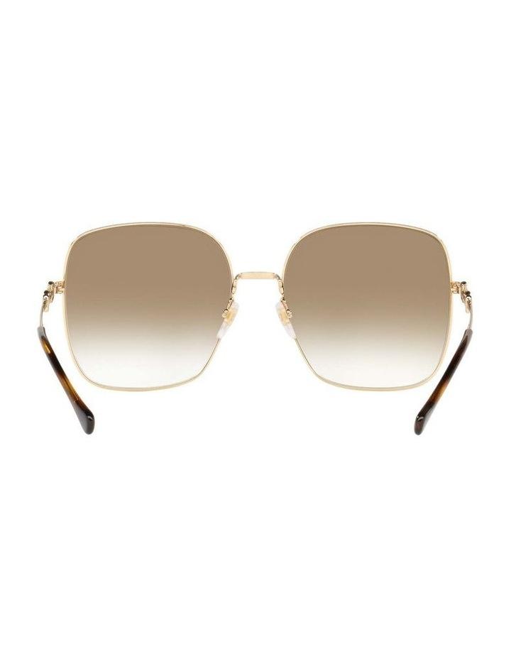 Gold Rectangle Sunglasses 0GC001507 1535974002 image 7