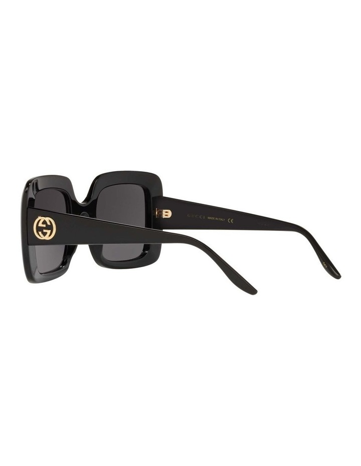 Black Rectangle Sunglasses 0GC001518 1535975001 image 5