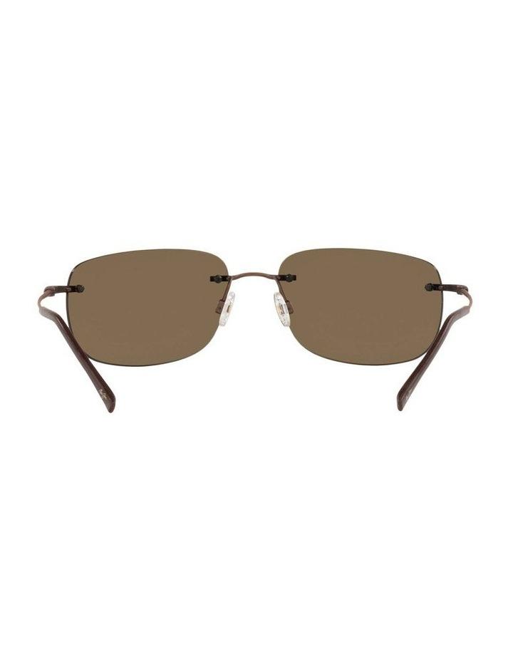 Ohai Polarised Copper Rectangle Sunglasses 0MJ000670 1535856002 image 7