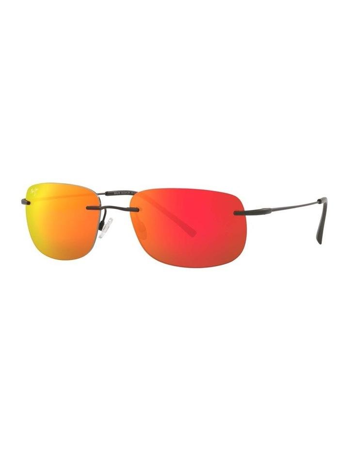 Ohai Polarised Black Rectangle Sunglasses 0MJ000670 1535856003 image 1