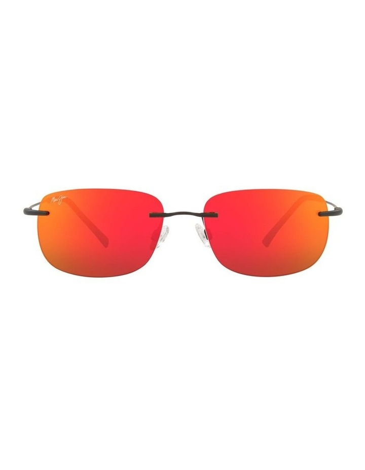 Ohai Polarised Black Rectangle Sunglasses 0MJ000670 1535856003 image 2