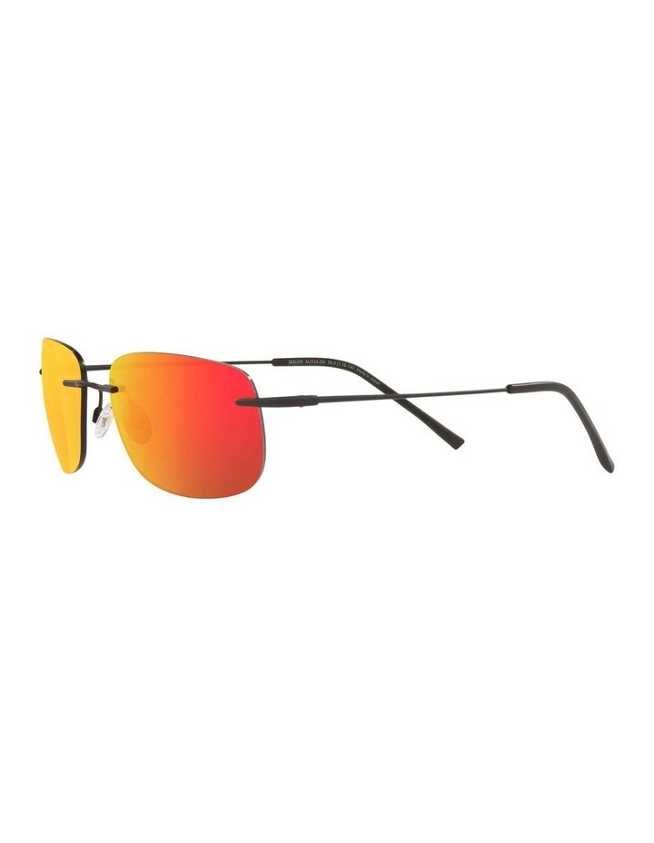 Ohai Polarised Black Rectangle Sunglasses 0MJ000670 1535856003 image 3