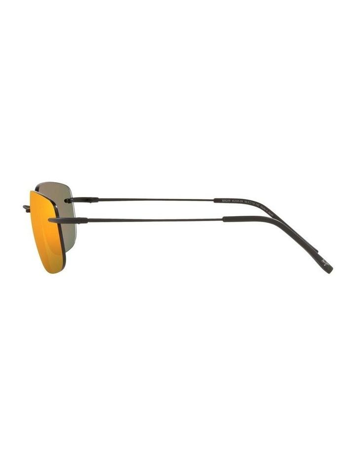 Ohai Polarised Black Rectangle Sunglasses 0MJ000670 1535856003 image 4