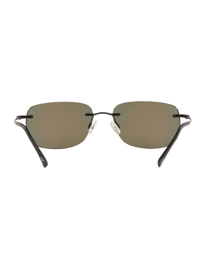 Ohai Polarised Black Rectangle Sunglasses 0MJ000670 1535856003 image 7