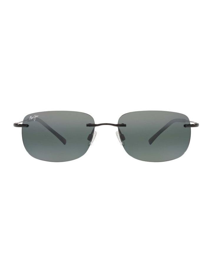 Ohai Polarised Black Rectangle Sunglasses 0MJ000670 1535856004 image 2