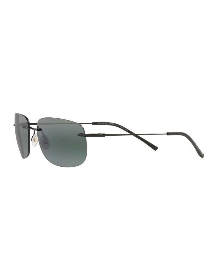 Ohai Polarised Black Rectangle Sunglasses 0MJ000670 1535856004 image 3
